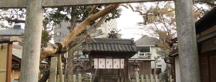 勢多橋龍宮秀郷社 (橋守神社) is one of 近江 琵琶湖 若狭.
