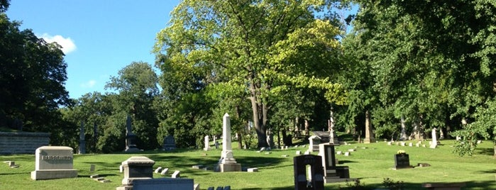 Woodland Cemetery and Arboretum is one of Dayton Favorites.