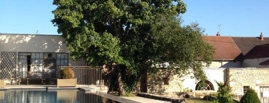 Chateau de Courban is one of Tous au restaurant 2012 - du 17 au 23/09.
