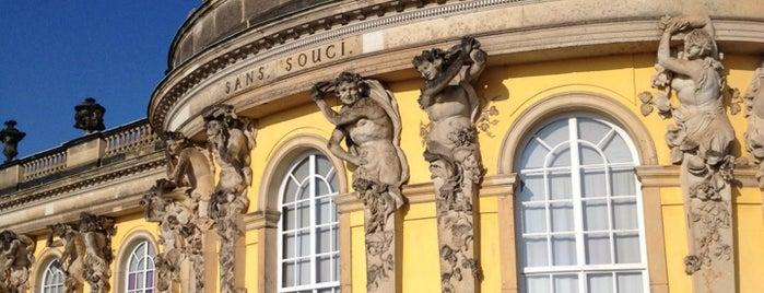 Сан-Суси дворец is one of Berlin, Germany.