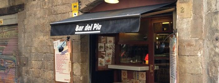 Bar del Pla is one of Hay comida! [BCN].