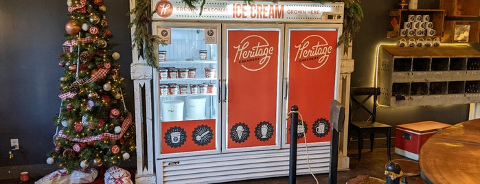 Heritage Creamery is one of USA - The South.
