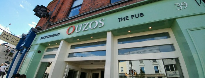 Ouzos Bar & Grill is one of Dublin Restaurants & Bars.