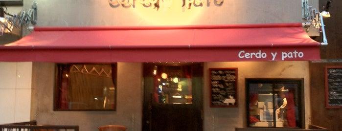 豚と鴨とワインのおいしいお店 Cerdo y pato is one of Topics for Restaurant & Bar ⑤.