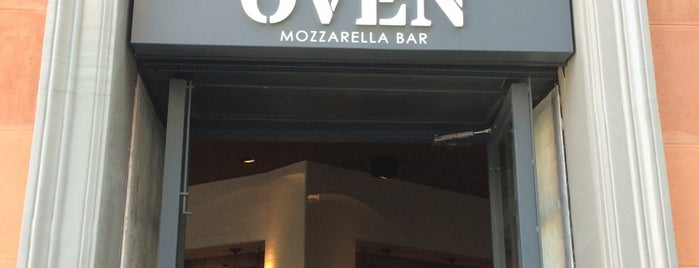 Ôven MOZZARELLA BAR is one of ¿Dónde vamos a cenar?.