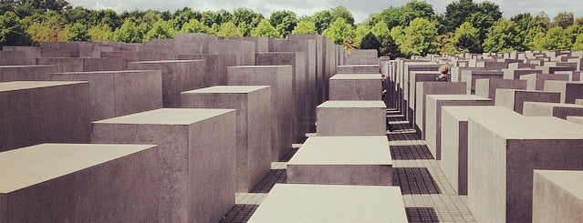 Denkmal für die ermordeten Juden Europas is one of Central Europe 2017.