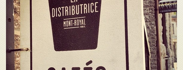 La Distributrice is one of Montreal.