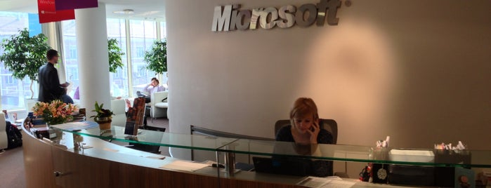 Microsoft Ukraine is one of Киев.