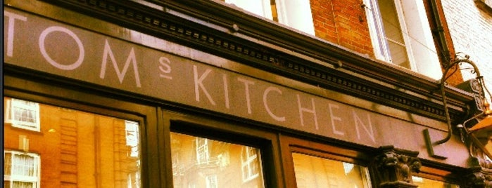 Tom's Kitchen is one of London - Food.