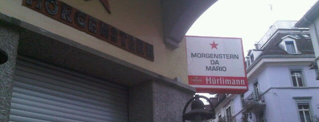 Morgenstern da Mario is one of Top Spots in Downtown Zurich.
