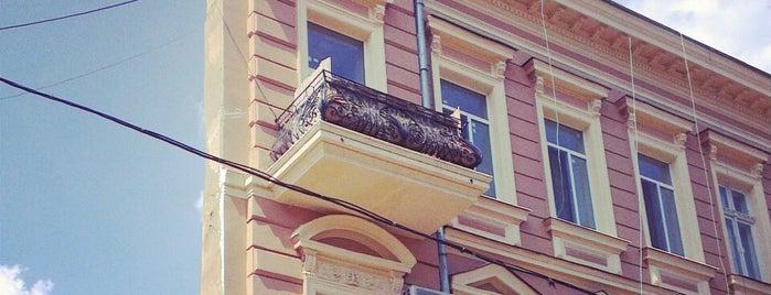 Дом-стена is one of одесса.
