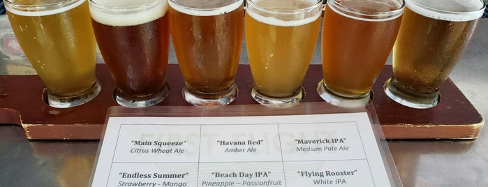 First Flight Island Restaurant & Brewery is one of Key West.