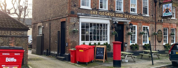 The George and Devonshire is one of London bar,pub,restaurants.