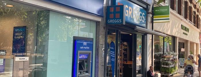 Greggs is one of London, UK.