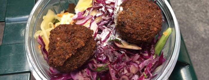 Soom Soom vegetarian bar is one of Israeli/Mediterranean/Middle Eastern.