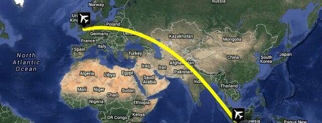 Bandar Udara Internasional Husein Sastranegara (BDO) is one of Part 1~International Airports....