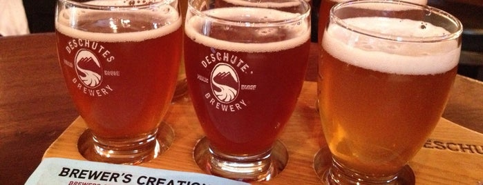 Deschutes Brewery Portland Public House is one of America's Best Breweries.