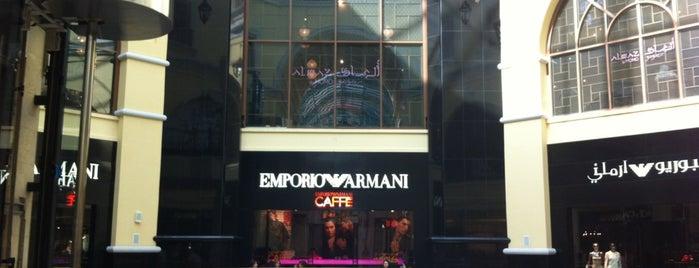 Emporio Armani Caffe كافيه أرماني is one of Дубаи.