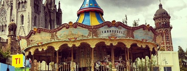 Tibidabo is one of Family Fun in Barcelona.