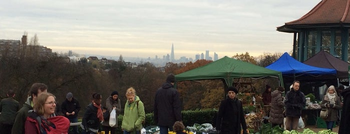 Horniman Farmers' Market is one of London Markets.