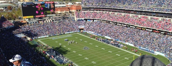 Nissan Stadium is one of The Most Popular Football Stadiums in the US.