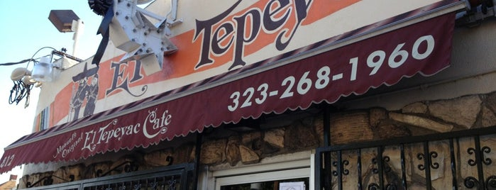 Manuel's Original El Tepeyac Cafe is one of Locais salvos de Allison.