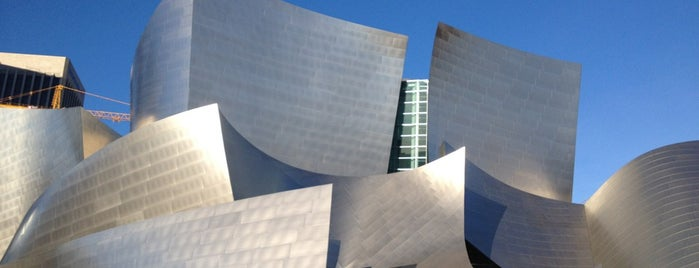 Walt Disney Concert Hall is one of Los Angeles.