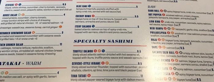 Blue Sushi Sake Grill is one of สถานที่ที่ Florian ถูกใจ.