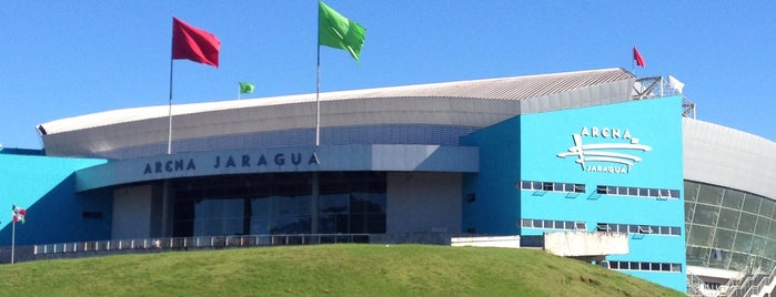 Arena Jaraguá is one of Locais curtidos por Káren.