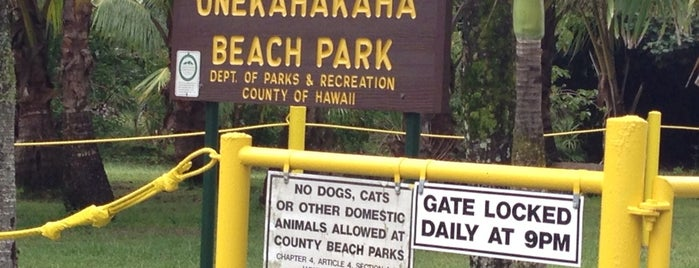 Onekahakaha Beach Park is one of HI spots.