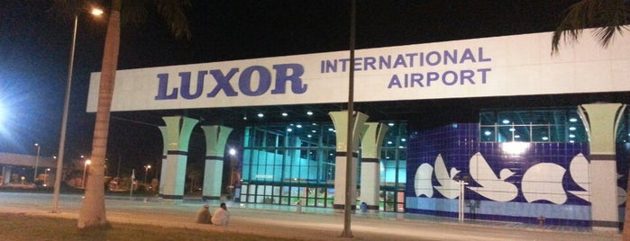 Luxor International Airport (LXR) is one of Airports.