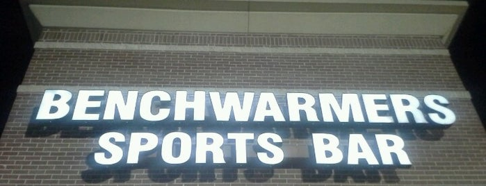 Benchwarmers Sports Bar is one of Fun things n places!.