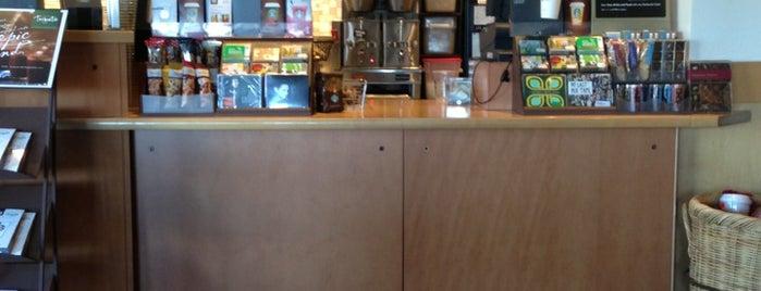 Starbucks is one of Orte, die Jeremy gefallen.