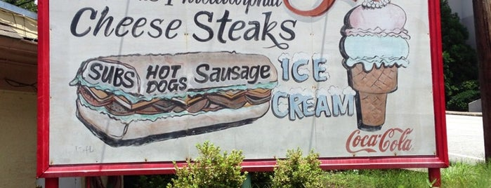 Woody's Famous CheeseSteaks is one of Taste of Atlanta 2012.