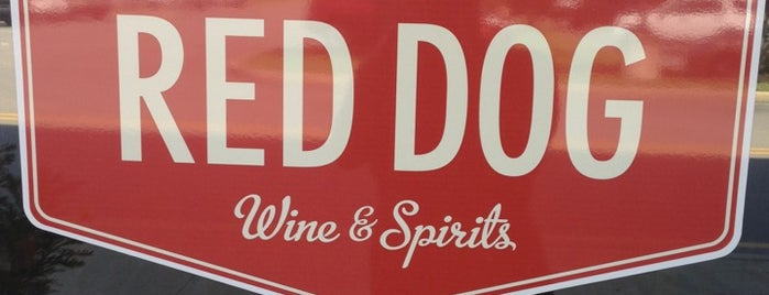 Red Dog Wine And Spirits is one of George 님이 좋아한 장소.