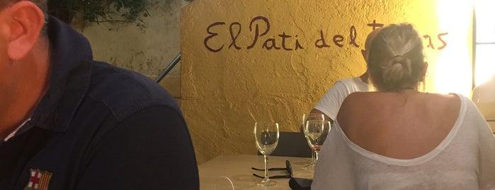 El Pati Del Tapes is one of Locais curtidos por Manel.