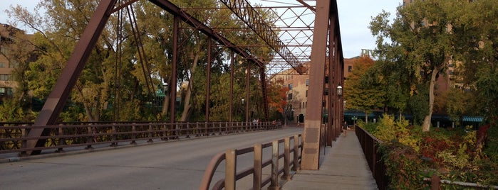 Merriam Street Bridge is one of Bridges in Minneapolis-St. Paul.