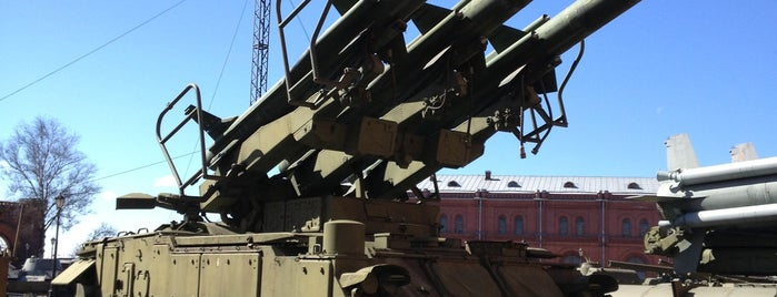 Museum of Artillery, Engineers and Signal Corps is one of СПб..