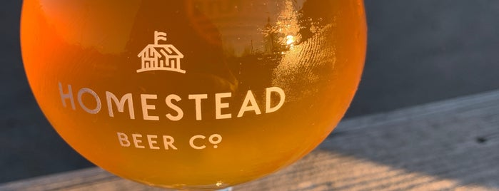 Homestead Beer Co. is one of Breweries.