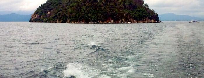 竹生島 is one of สถานที่ที่ Shigeo ถูกใจ.