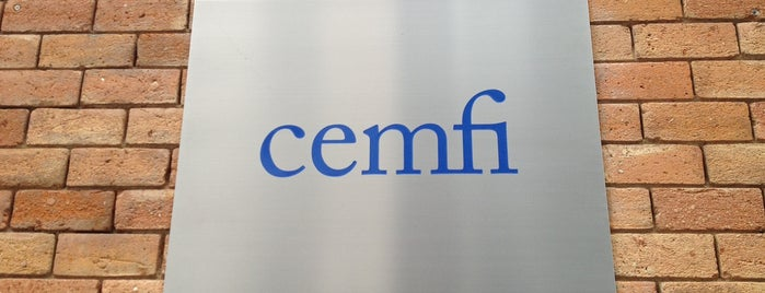 CEMFI Centro de Estudios Monetarios y Financieros is one of Tempat yang Disukai Raul.