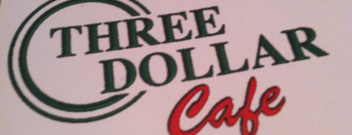 Three Dollar Cafe Jr. is one of Hilton dining.