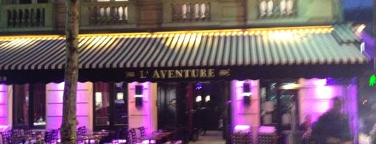 L'Aventure is one of Three Jane's Guide to Paris.
