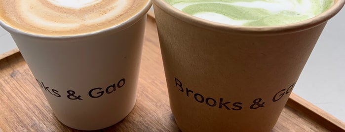 Brooks & Gao is one of Coffee Shops South.
