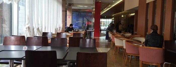 シアトルズベストコーヒー アパホテル金沢中央店 is one of 電源 コンセント スポット.