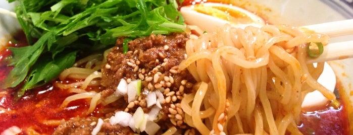 ダンダン亭 is one of 汁なし担々麺.