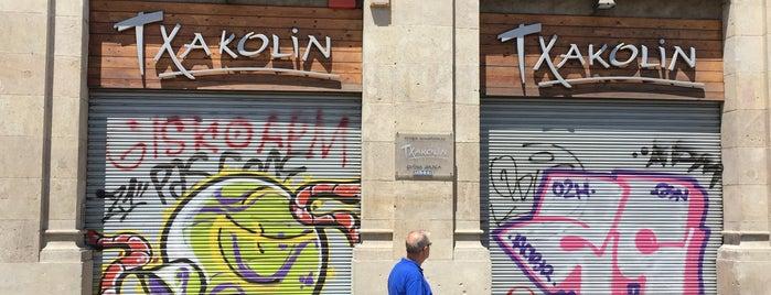 Txakolí is one of Barcelona.