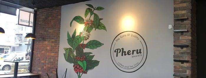 Pheru Coffee and Tea Shop is one of Orte, die Mustafa gefallen.