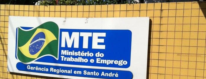 MTE - Ministério do Trabalho e Emprego is one of สถานที่ที่ Edgard von Villon Imbó ถูกใจ.