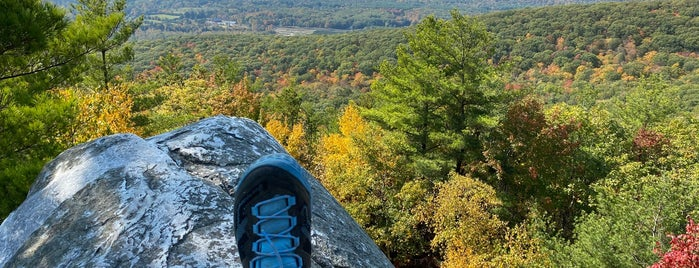 Monument Mountain Trail is one of Berkshire MA.
